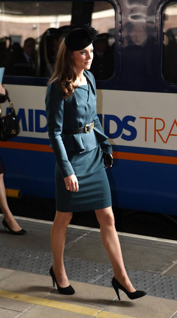 Kate Middleton Diamond Jubilee Tour LK Bennett